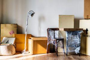 Passos para guardar a sua mobília
