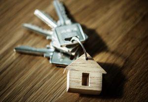 Porta chaves de uma casa
